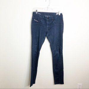 Diesel Jeans Bi-Bi SS Leggings in Dark Wash*